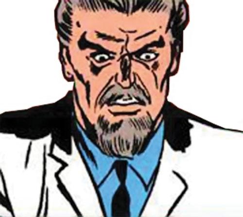 Locust (Marvel Comics) face closeup