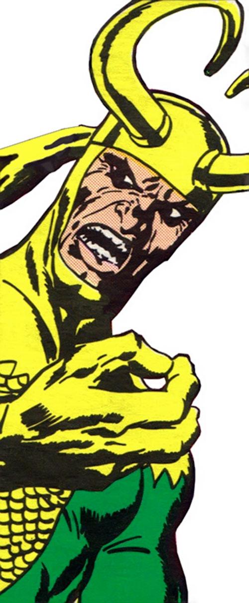 Loki (Thor character) (Marvel Comics) yelling