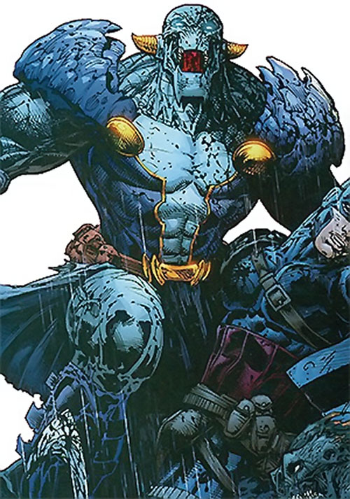 Lord Havok of the Extremists (DC Comics)