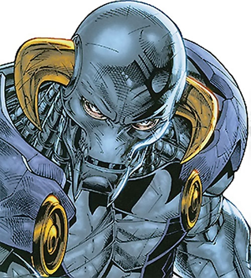 Lord Havok of the Extremists (DC Comics) portrait
