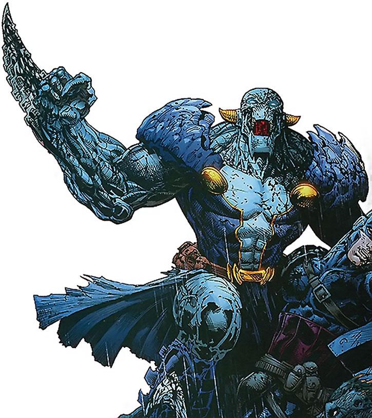Lord Havok (Alexi) in combat