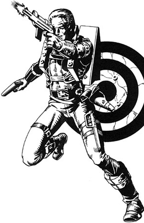 Luger from the DNAgents comics