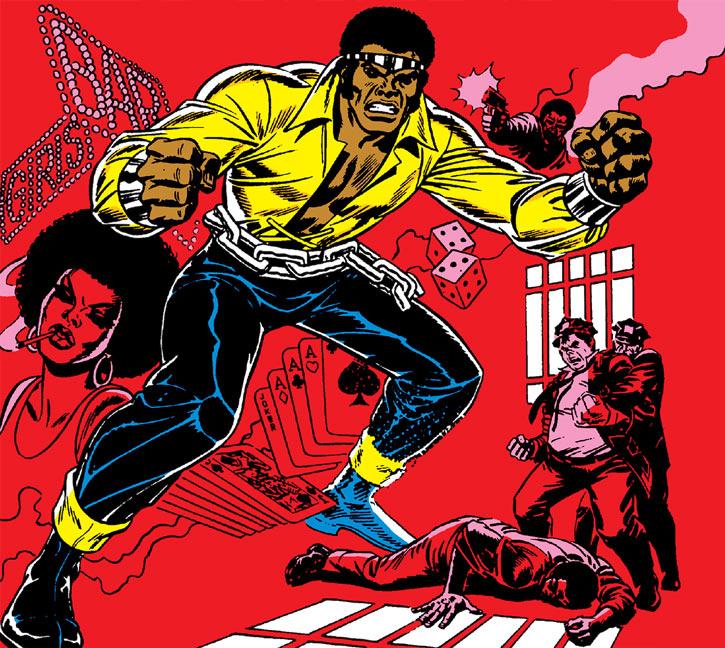 Power Man (Luke Cage) blaxploitation cover