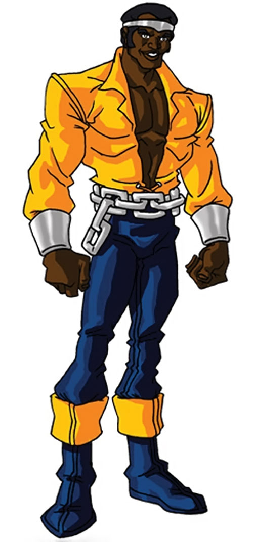 Luke Cage the 1970s hero for hire (Marvel Comics) by RonnieThunderbolts 1/2