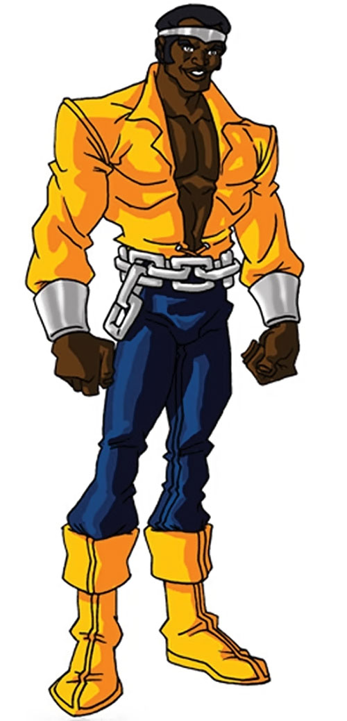Luke Cage the 1970s hero for hire (Marvel Comics) by RonnieThunderbolts 2/2