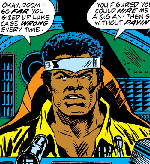 Luke Cage the 1970s hero for hire (Marvel Comics) piloting