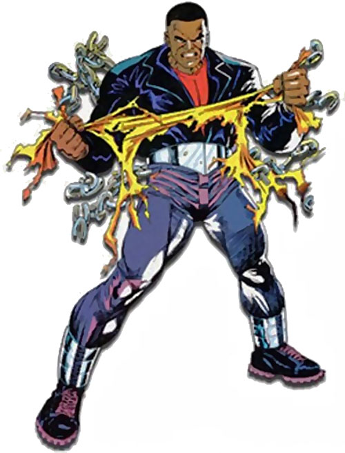 Luke Cage (Marvel Comics) during the 1990s