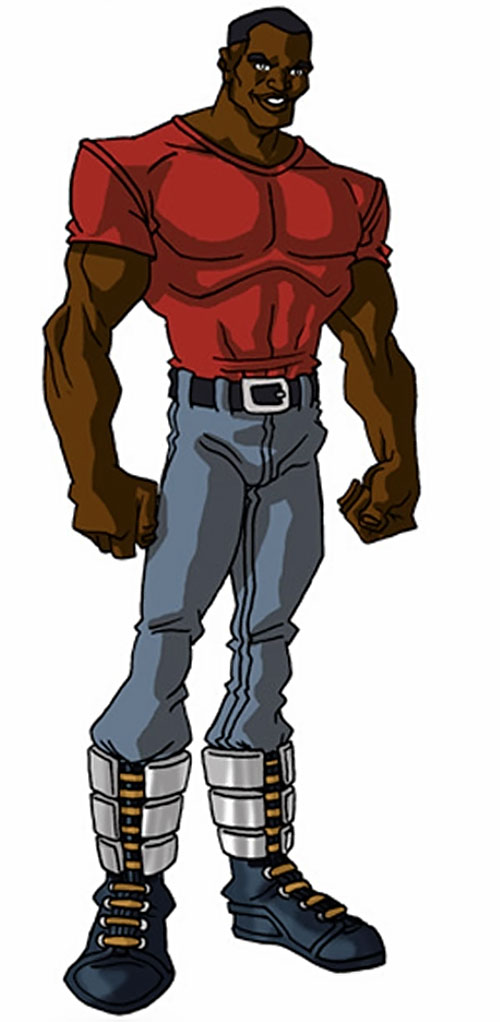 Luke Cage in the 2000s (Marvel Comics) by RonnieThunderbolts 2/4