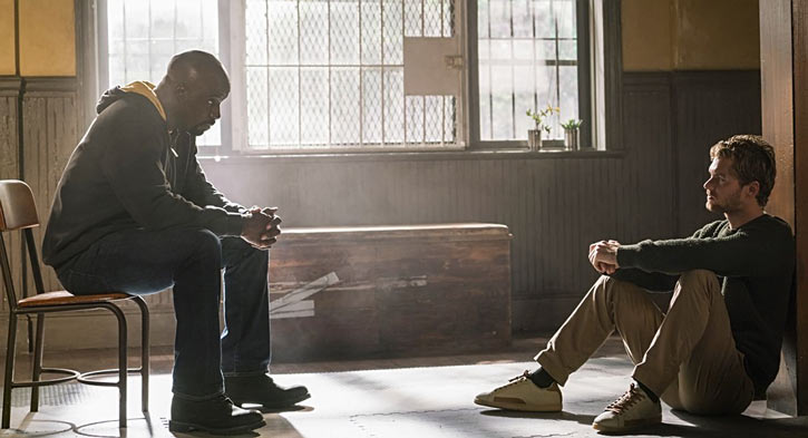 Luke Cage (Netflix version) character profile - talking with Danny Rand