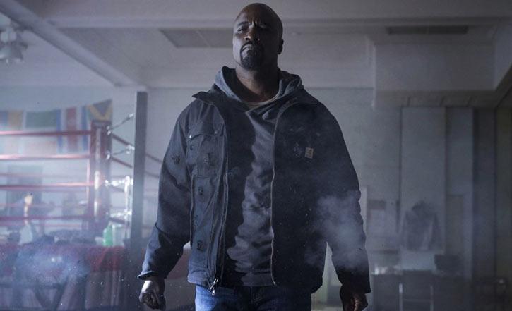 Luke Cage (Netflix version) character profile - ringside gunfire
