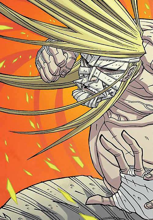 Luther Strode (Image Comics) bare-chested