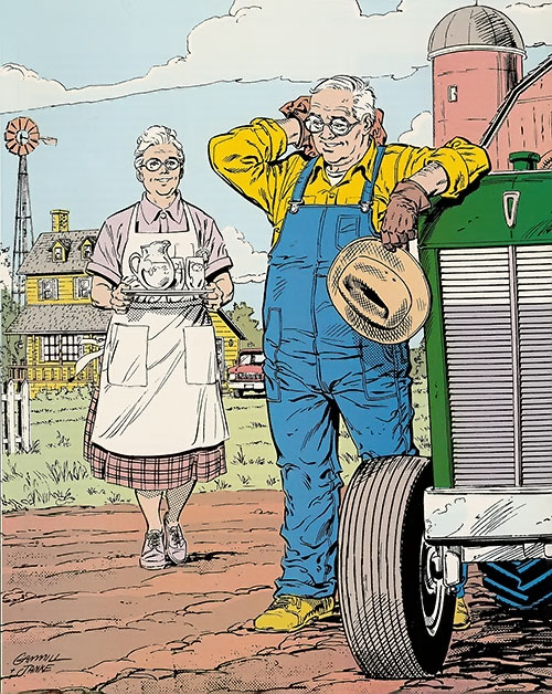 Ma and Pa Kent (Superman characters) (DC Comics)