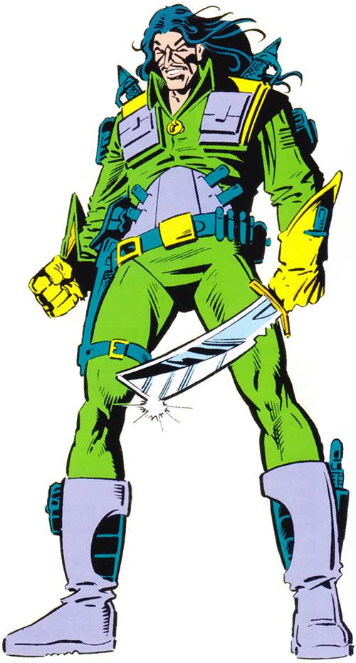 Machete (Marvel Comics) from the older handbook