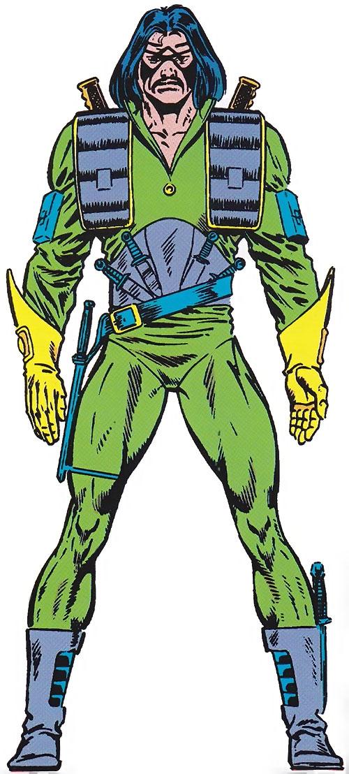 Machete (Marvel Comics) from the Master Edition handbook