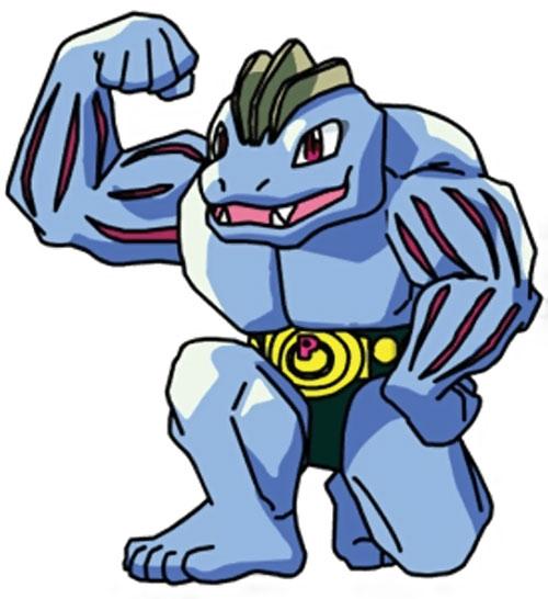 Machoke pokemon