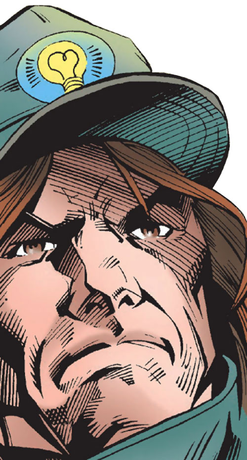 Mad Thinker (Marvel Comics) face closeup