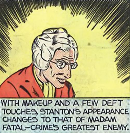 Madam Fatal (Quality Crack Comics) dramatic panel