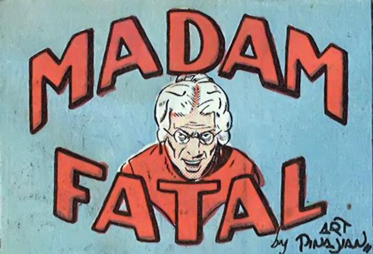 Madam Fatal title card