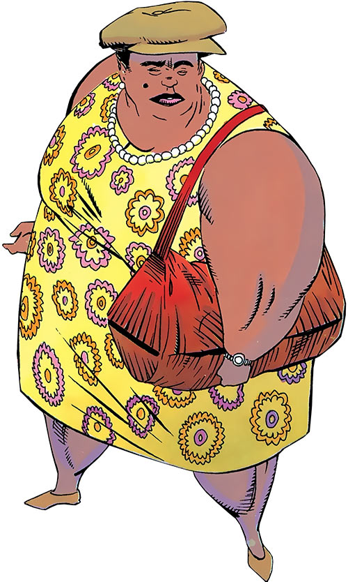 Madame Waxahachie (DC Comics) (Deadman) yellow dress
