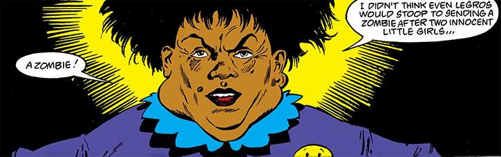 Madame Waxahachie (DC Comics) (Deadman) in purple