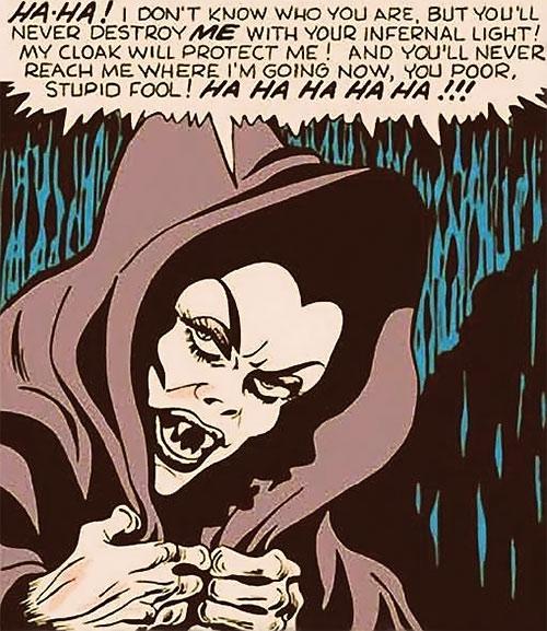 Madame la Morte (Marvel Boy enemy) (Atlas Comics)