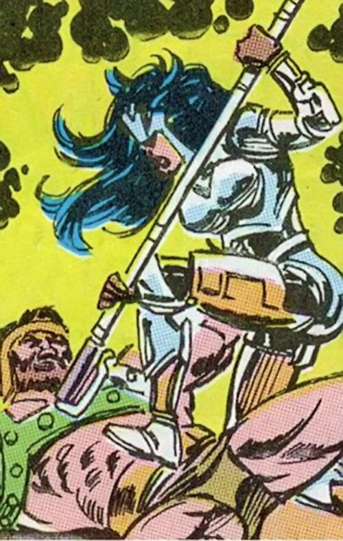 Magdalene of the Gatherers (Avengers enemy) (Marvel Comics) vs. Hercules
