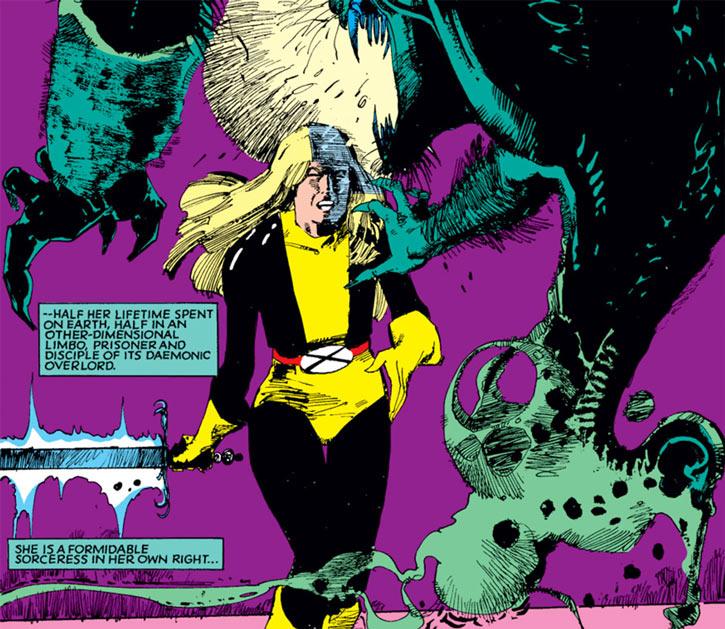 Magik of the New Mutants (Marvel Comics) by Bill Sienkiewicz