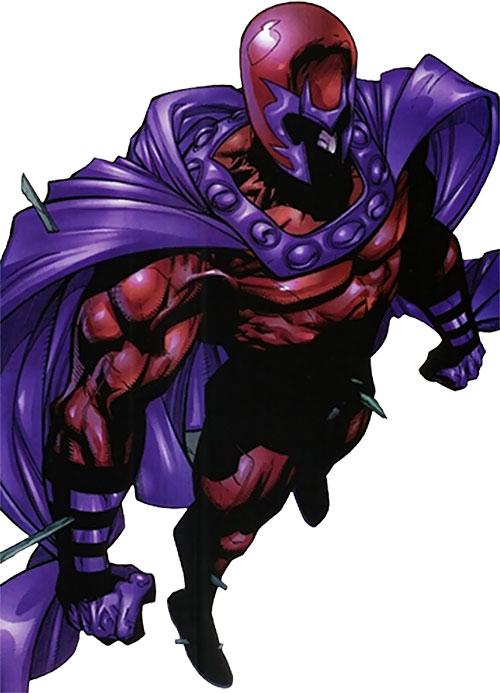Magneto (Marvel Comics) dramatic pose