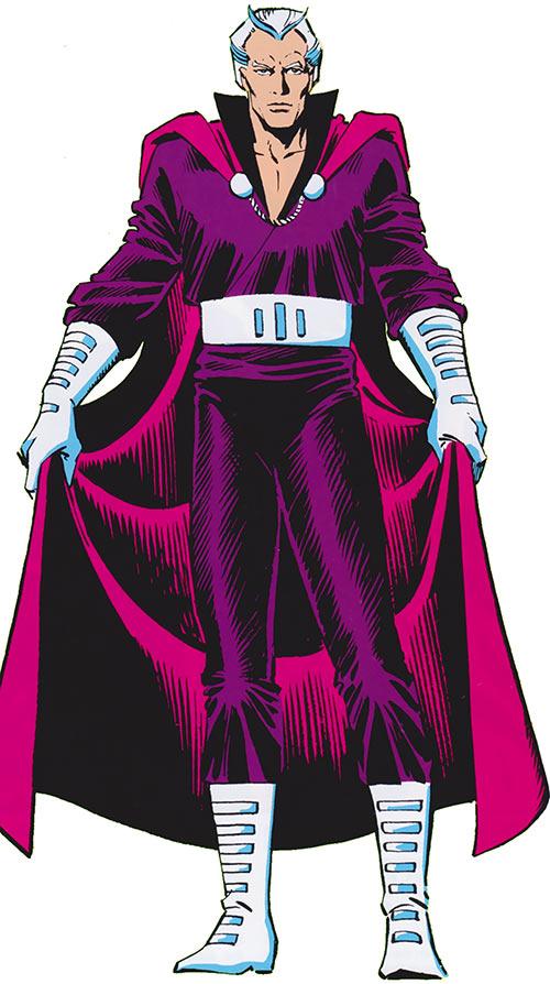 Magneto (Marvel Comics) from the 1986 handbooks