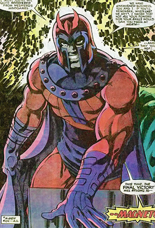 Magneto (Marvel Comics) during the Bronze Age