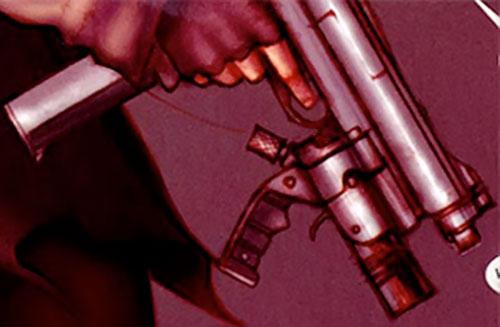 Makita (Red Star comics) machine pistol closeup