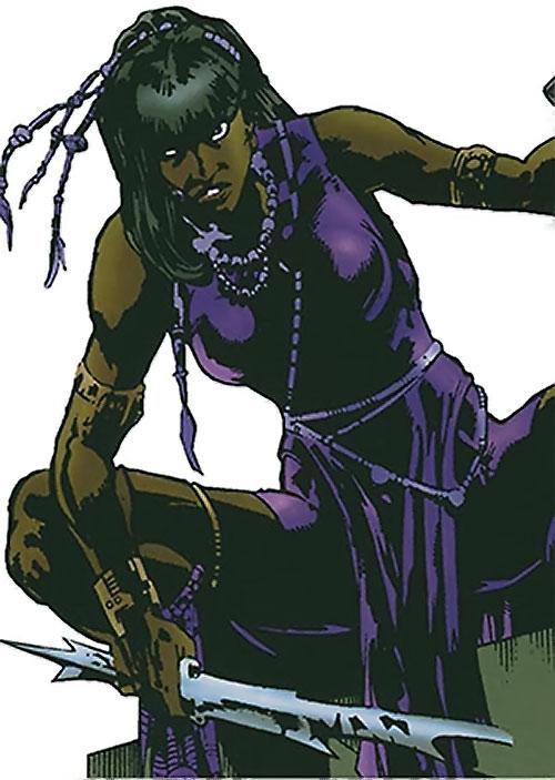 Malice (Black Panther enemy) (Marvel Comics) (Nakia)