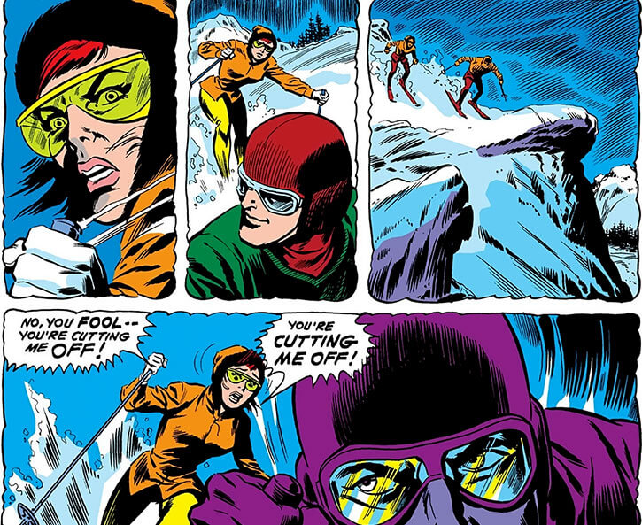 Man-Killer (Marvel Comics) (van Horn classic) ski accident