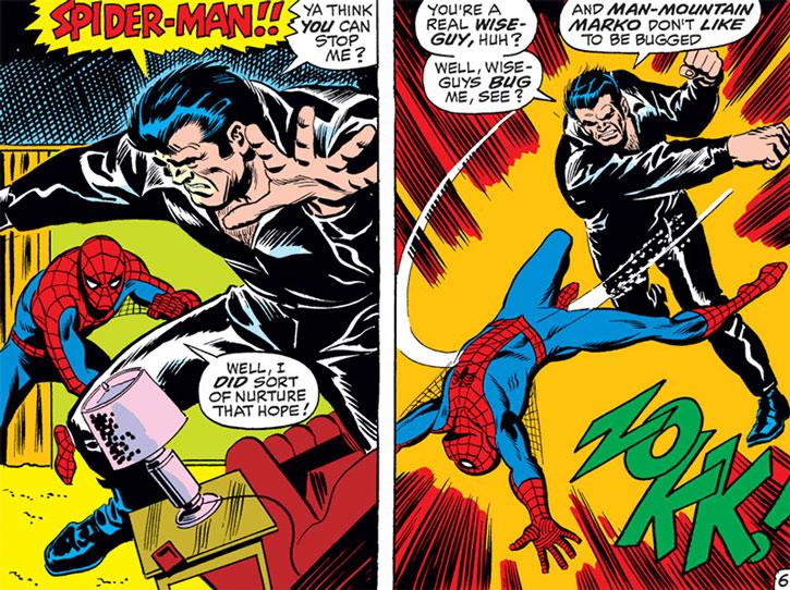 Man-Mountain Marko vs. Spider-Man