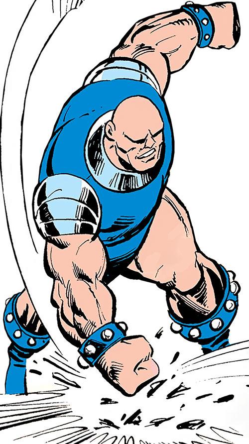 Mangler (Captain America enemy) (Marvel Comics) early appearance