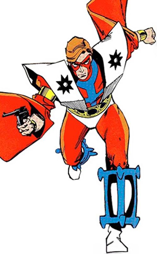 Manhunter (Paul Kirk) (DC Comics) (Red and white costume)