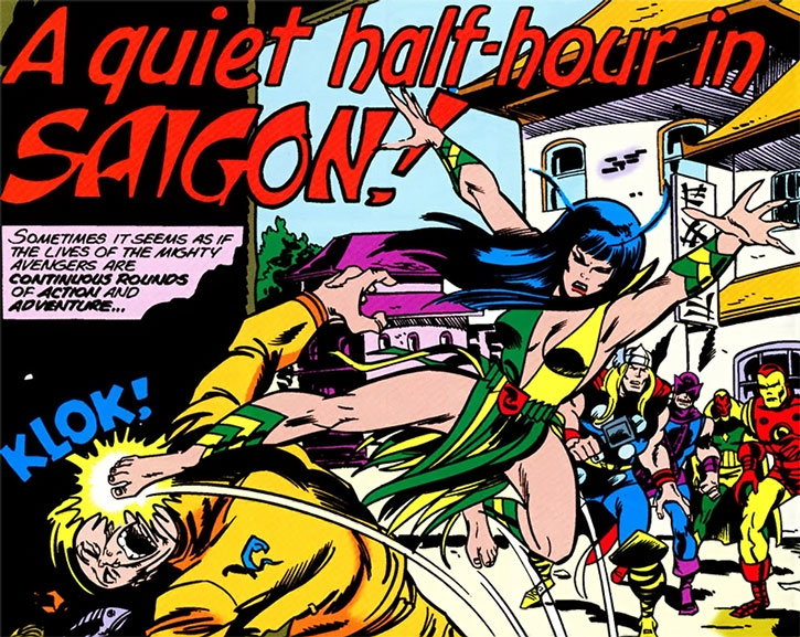 Mantis and the Avengers in Saigon