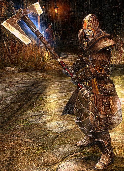 Grim Dawn - Mardirossian - Huge axe