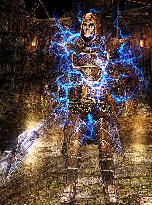 Grim Dawn - Mardirossian - Lightning aura