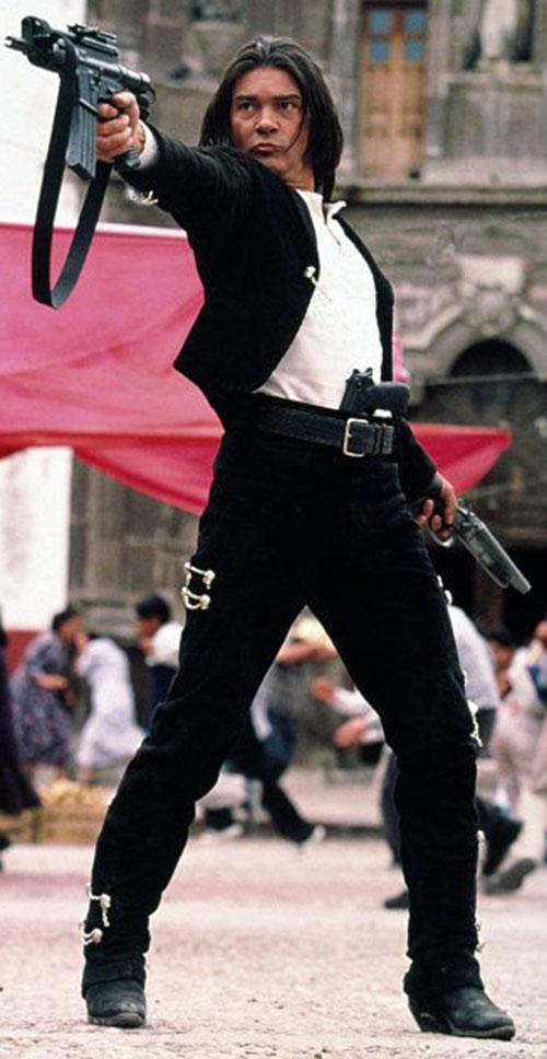 Desperado - Antonio Banderas in a mariachi suit