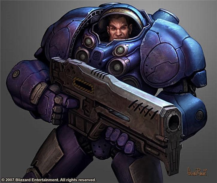 Starcraft marine