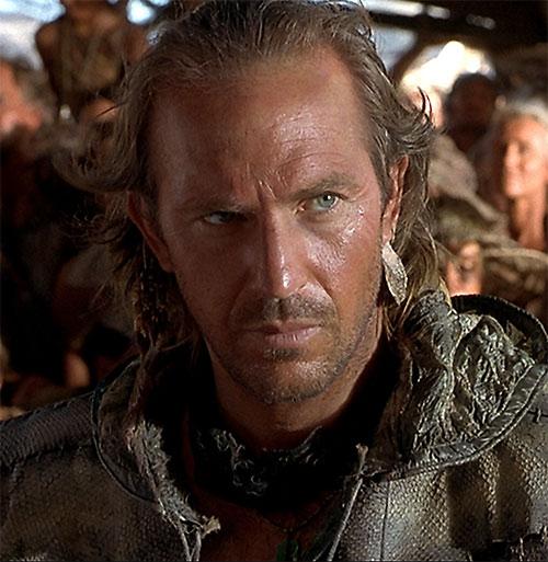 Mariner (Kevin Costner in Waterworld) face closeup