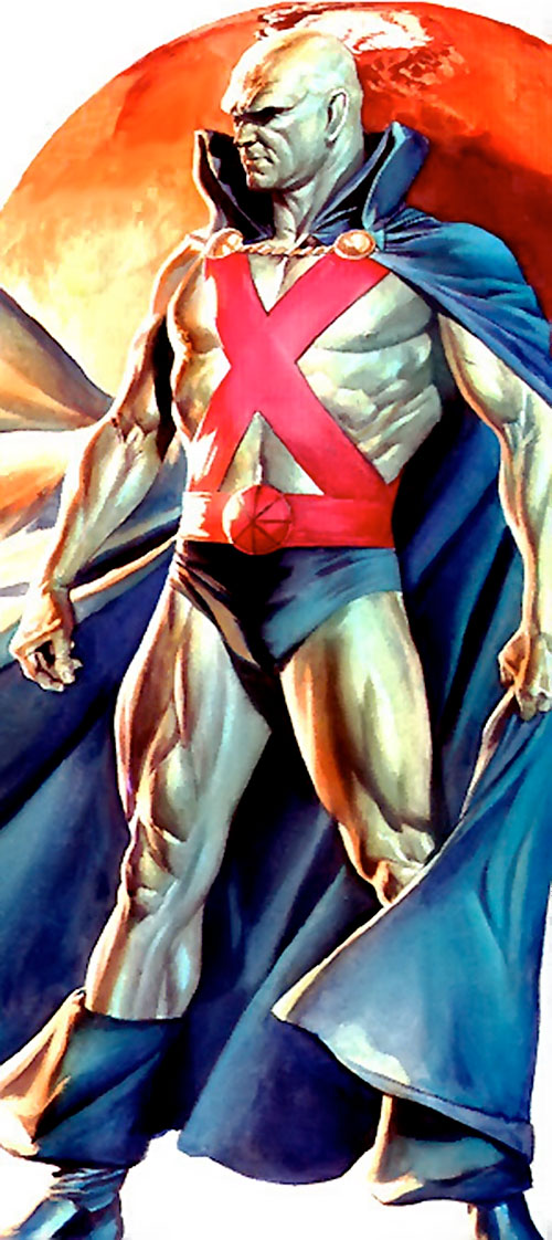 Martian Manhunter painting by Ross
