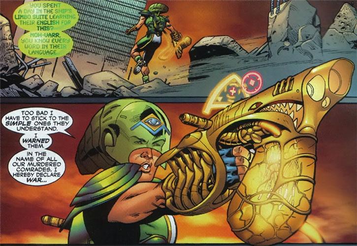 Marvel Boy (Noh-Varr)'s Kree gun