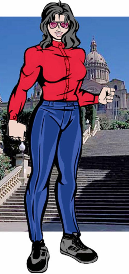 Mascara (DC Heroes RPG) civilian garb