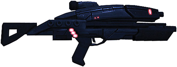 Mass Effect 1 assault rifle