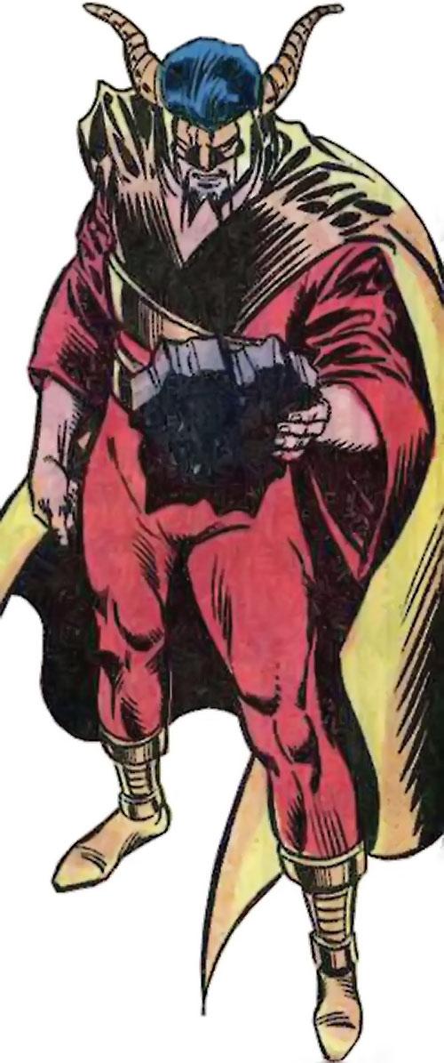 Master Pandemonium (Avengers enemy) (Marvel Comics) high angle shot