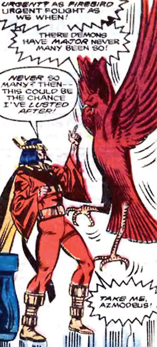 Master Pandemonium (Avengers enemy) (Marvel Comics) and Azmodeus