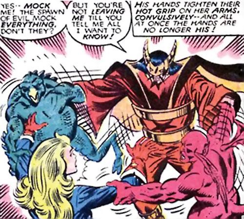 Master Pandemonium (Avengers enemy) (Marvel Comics) vs. Shooting Star