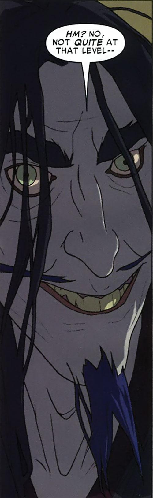 Master Pandemonium (Avengers enemy) (Marvel Comics) hermit grin
